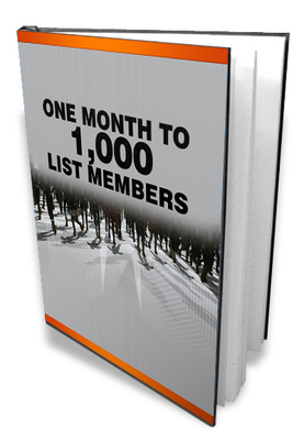 Product picture One Month 1000 Members - Build a Powerful Mailing List