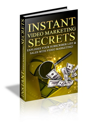 Product picture Instant Video Marketing - Make Money Online.