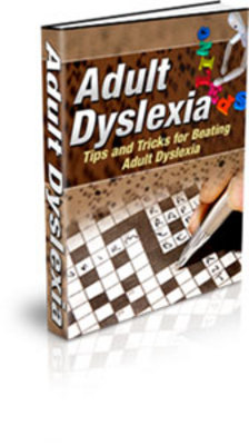 Product picture Adult Dyslexia - tips and tricks for coping with dyslexia